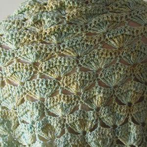 Handmade Other - Vintage Hand Made Crochet Shawl